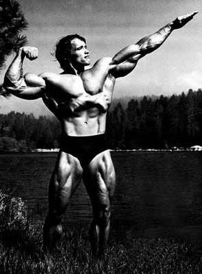 Arnold Schwarzenegger Off Season Pics http://mariabellafigura.blogspot.com/2010/09/tis-season-for-off-season.html