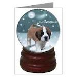 St. Bernard Snow Globe