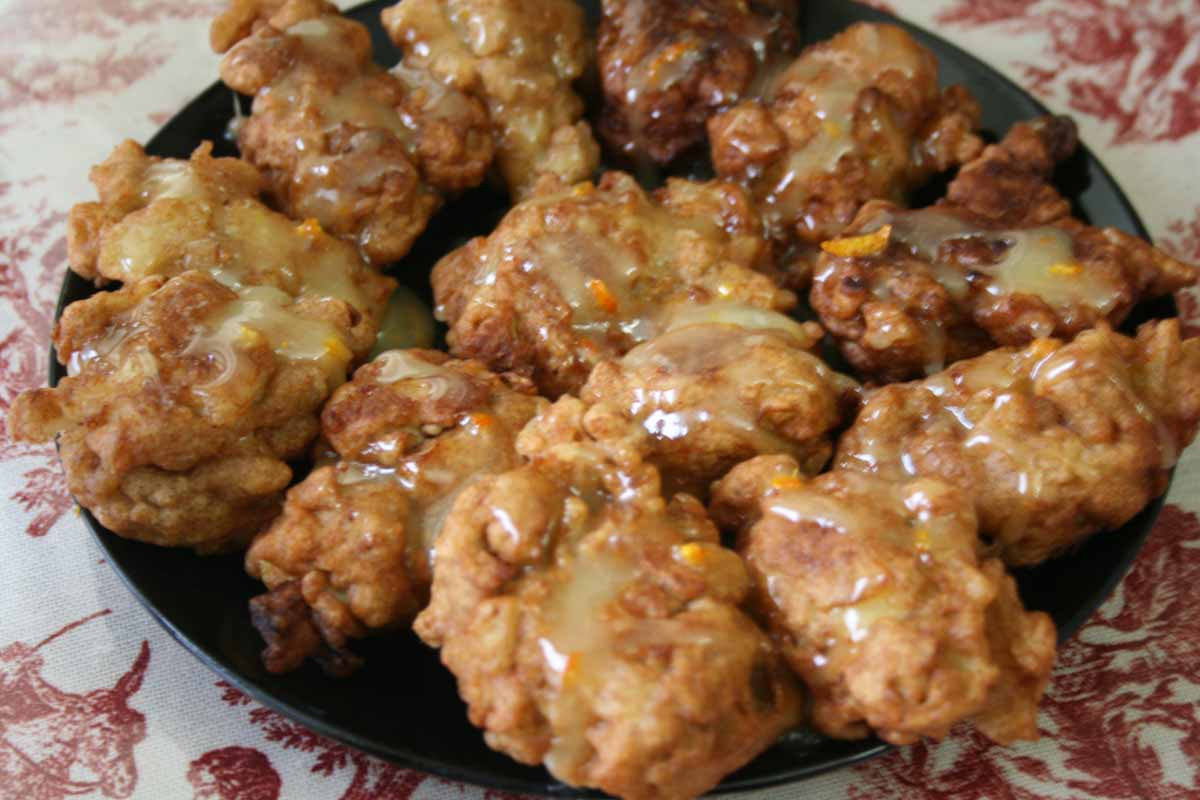 Fried Apple Fritters Recipe — Dishmaps