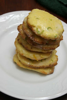 Recipe Shoebox: Cornmeal Lime Glazed Cookies