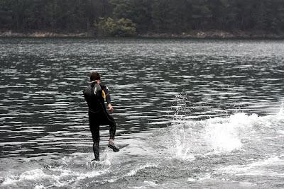 Afirman que caminan en el agua!