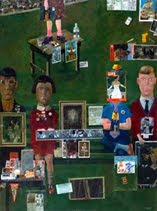 Peter Blake On the Balcony, 1955-7