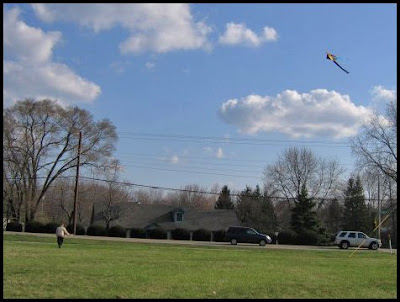kite flying