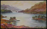 Loch Lomond Postcard 1945