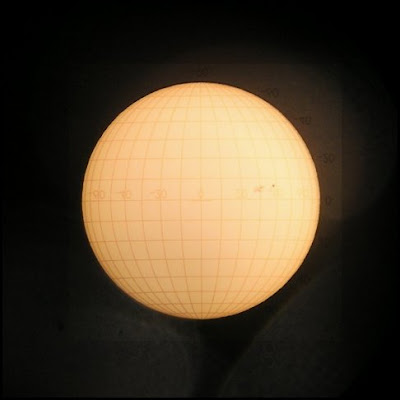 Sun with grid