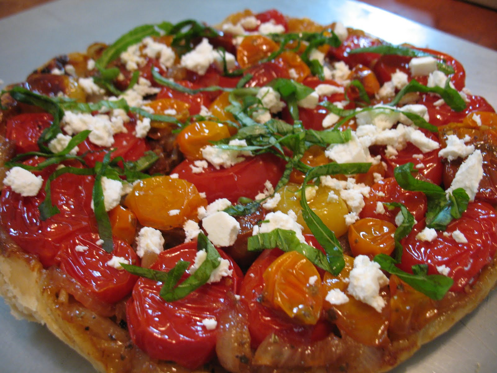 SOUNDING MY BARBARIC GULP!: Tomato Tarte Tatin