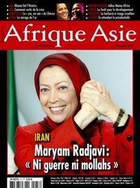 مجله فرانسوی آفریقا- آسیا: «مریم رجوی: نه جنگ، نه ملا»