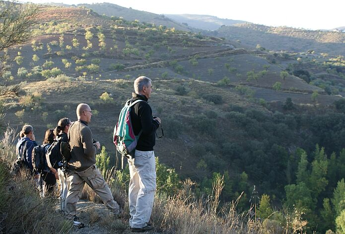 The first Alpujarran bird census on the third of October 2009 - foto: casa rural El Paraje