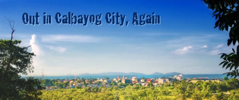 Out in Calbayog City, Again