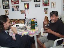 DANIEL ALEJANDRO JUNTO A FAMOSOS DE URUGUAY Y EL MUNDO