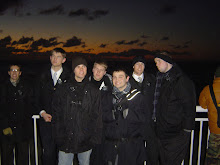 Missionaries waiting for the first sunrise of 2010.