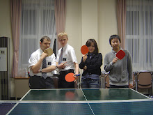 Some ping-pong.