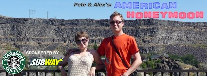 Pete & Alex's American honeymoon