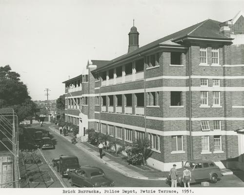 Your brisbane past and present police barracks petrie for 242 petrie terrace brisbane
