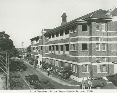 Your brisbane past and present police barracks petrie for Queensland terrace state library