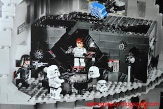 lego star wars mini death star instructions