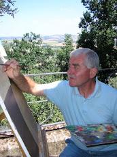 Gianni pittore per passione.