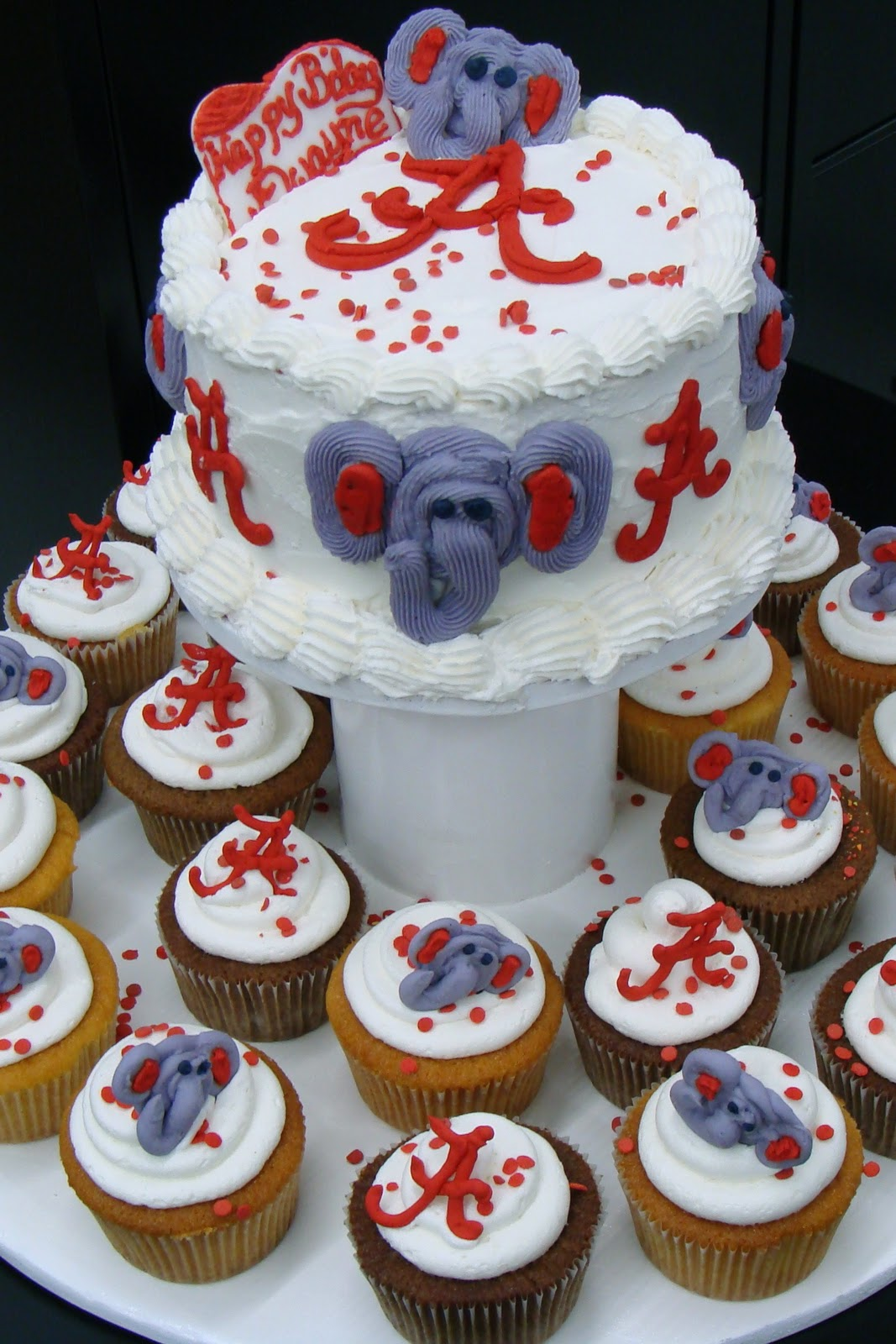 Halloween Cupcake Display