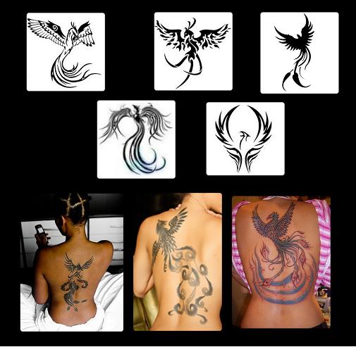 tatuagem fenix significado. Algumas vezes, como a Fênix, temos que renascer das cinzas.