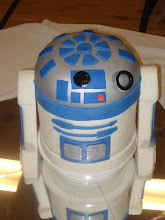 R2D2 Cake