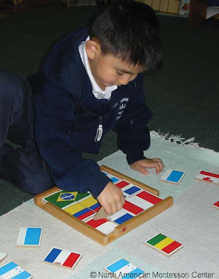what i've learned from NAMC montessori real teacher boy flags