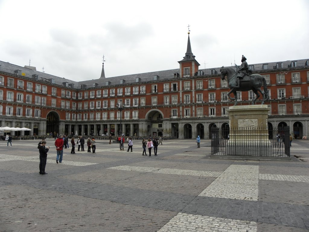 Travels - Ballroom Dancing - Amusement Parks: Plaza Mayor, Madrid