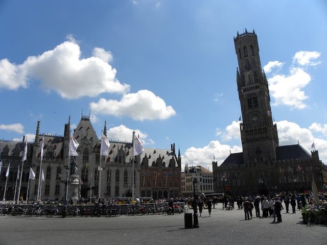 Main Square Brugge Belfry