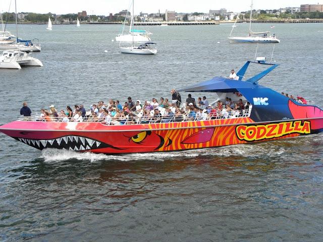 Boston Harbor Godzilla