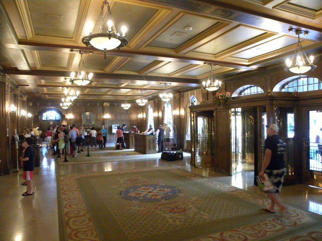 Travels ballroom dancing amusement parks fairmont for Hotel interieur