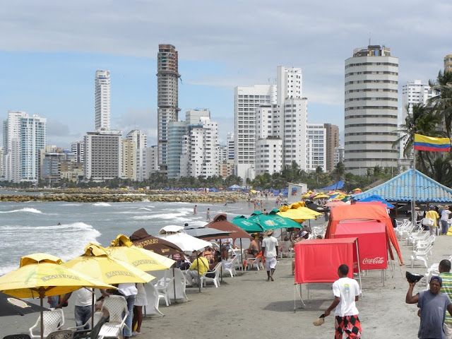 Beach Cartagena Colombia