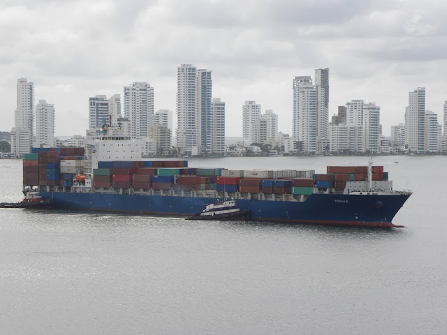 Port of Cartagena Colombia