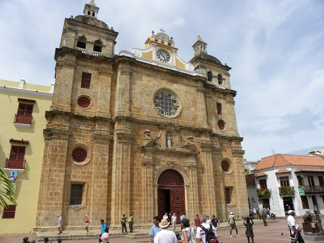 San Pedro Claver church Cartagena