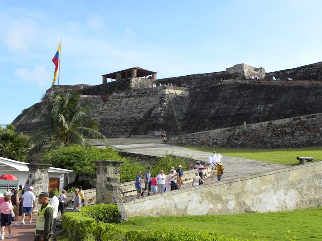 Fort the San Felipe de Barajas Cartagena