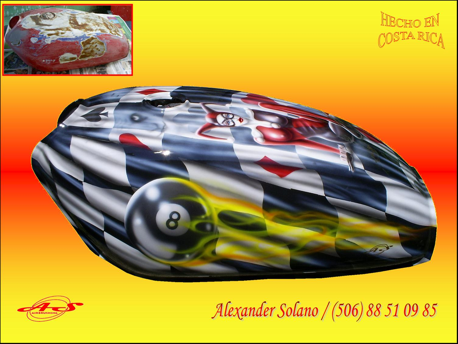 Imagenes De Tanques Aerografiados