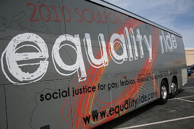 Christian gay bus equality ride