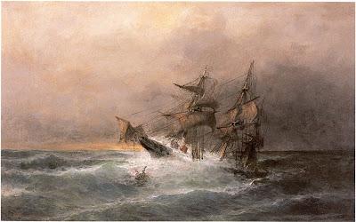 Κωνσταντίνος Βολανάκης Καράβι στην καταιγίδα
