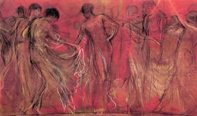 Νικόλαος Γύζης Ο χορός των μουσών