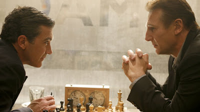 Liam Neeson and Antonio Banderas - The Other Man Movie