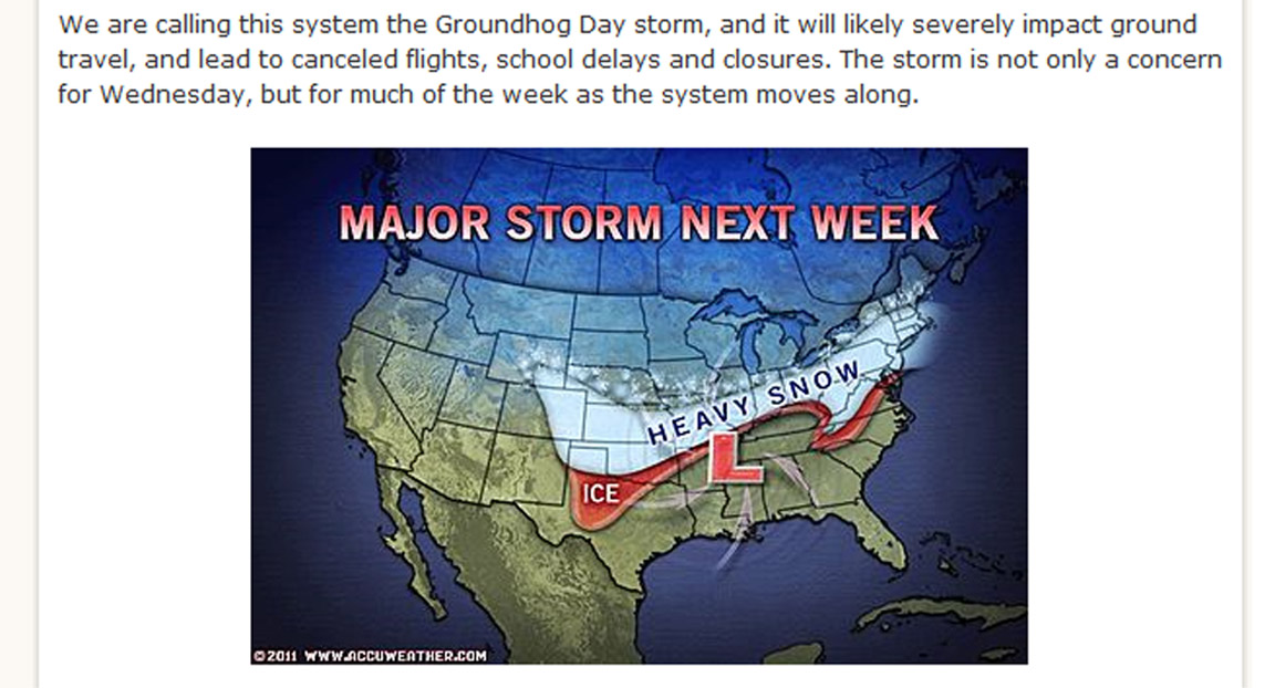 New York Long Term Weather Report According to the prediction