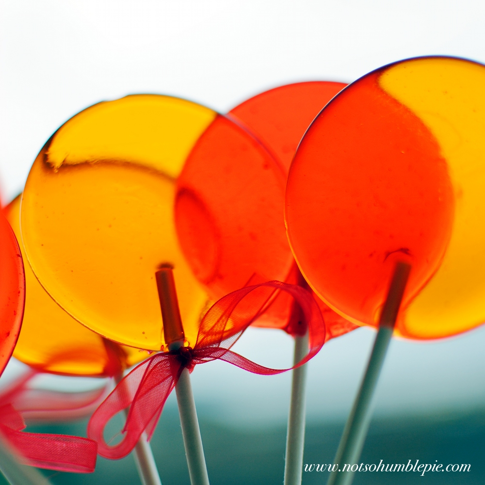 Not So Humble Pie: Lollipops & Sugar Science Ramblings
