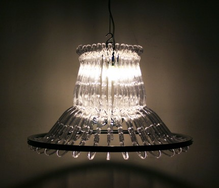 How to make a chandelier out of clothes hangers respaced portland sure how organelle managed to make these fabulous chandeliers out of clothes hangers and bicycle rims maybe you are the kind of person who can figure aloadofball Image collections