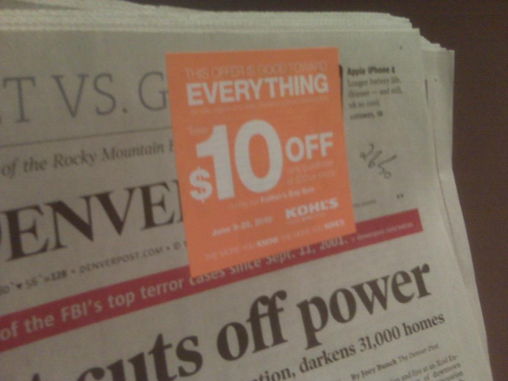 Kohls coupons kohls in store coupons