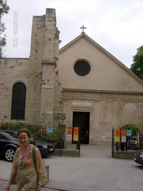 Marion e a igreja de Saint Julien le Pauvre