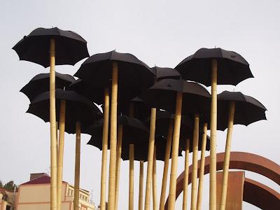Jardin de paraguas Bilbao