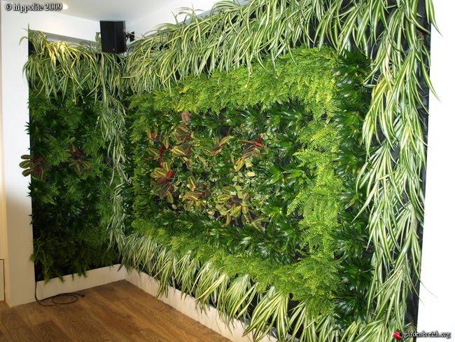 Muros de interior o exterior con el sistema grangier for Jardin vertical exterior