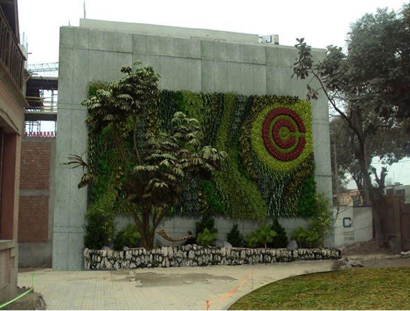 Jardines verticales y cubiertas vegetales febrero 2011 for Diseno de muros verdes