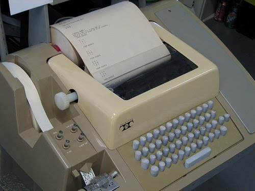 TTC TeleType machine