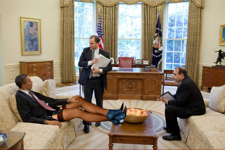 the oval office. Relaxing In The Oval Office I
