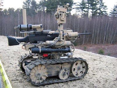 101 Preguntas y Respuestas Curiosas SWORDS+robot+soldado