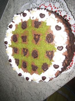 Cikolatali Yas Pasta